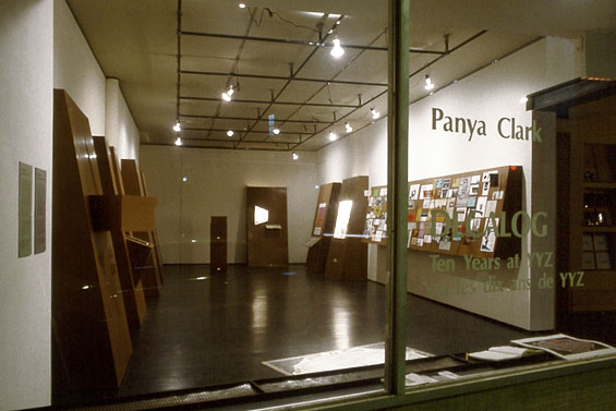 Decalog, 1990, installation view