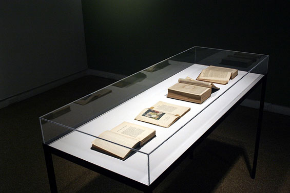 Fröbel Inspired Books, 2007, installation view