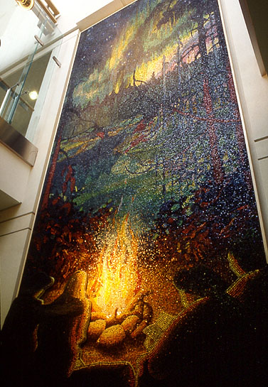 Northern Night, 1996, installation view