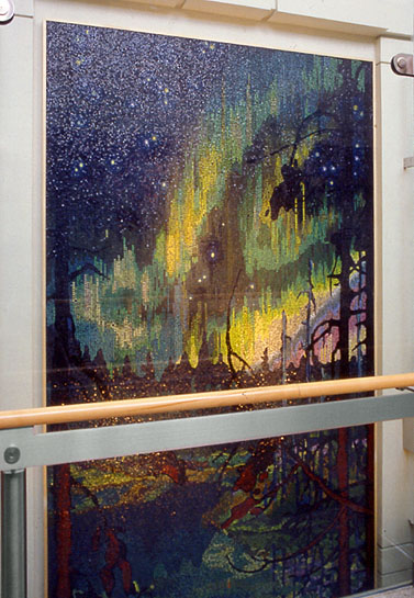 Northern Night, 1996, installation view on upper floor